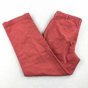 Sonoma Life+Style Chino Casual Flat Front Straight